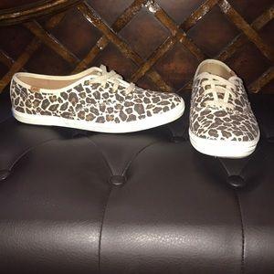 Shoes - Keds cheetah print shoes